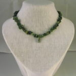 A1005 - African Jade Chips Necklace