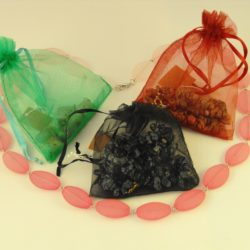 Necklace in Organza Bag
