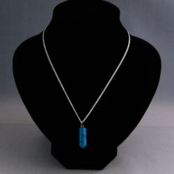 E0022 - Chinese Turquoise Drop Pendant