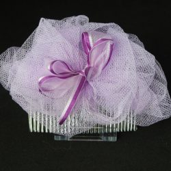 FAS007 - Lilac Net Ruffle on Comb