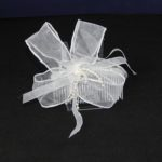FAS010 - Pale Gray Loops with Pearls on Comb