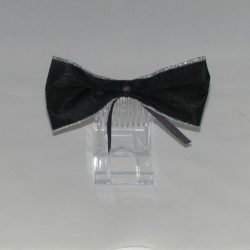 FAS020 - Black Ribbon Bow