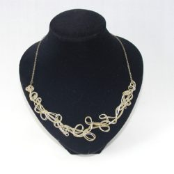 Bronze Wire Work Necklace