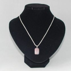 Agate Cube Necklace