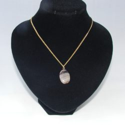 Banded Carnelian Necklace