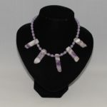 Amethyst Shards Beads Necklace