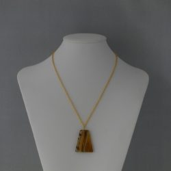 Three Colour Silver, Rose Gold, Gold Chain Necklace