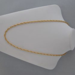 Prince of Wales Gold Coloured Chain Necklace