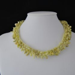 Lime Aventurine Lacey Choker Necklace