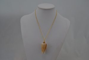 Large Shell Pendant Necklace