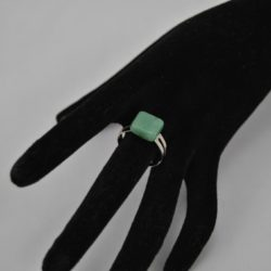 Aventurine Adjustable Shank Ring